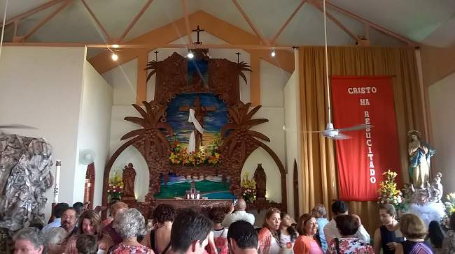 Easter in Puerto Rico Church