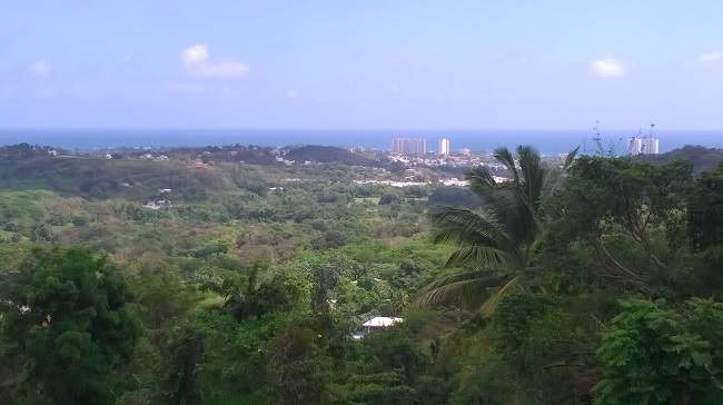 Views from our Luquillo mountain house