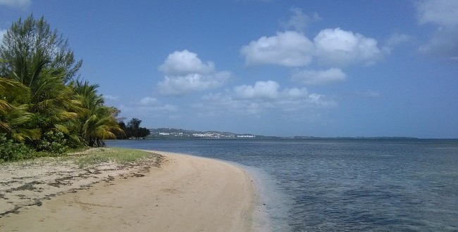 Life is a beach in Luquillo Puerto Rico