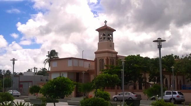 Church Luquillo Puerto Rico