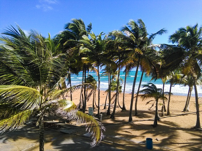 Our Beach Luquillo Puerto Rico