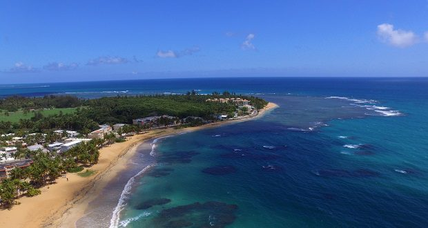 The Enchanted Island of Puerto Rico - Drone tour of Playa Azul in Luquillo