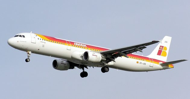 Flying Iberia Airlines To Spain