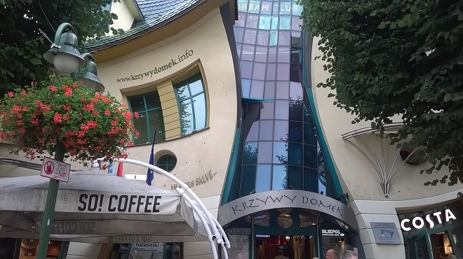Crooked House Sopot Poland
