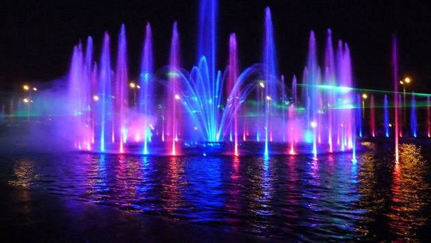 Warsaw Color Fountains