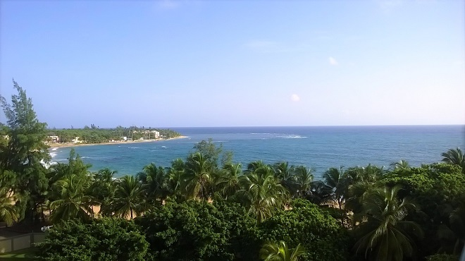 Luquillo View from Playa Azul