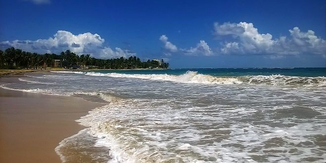 Beach in Luquillo Puerto Rico